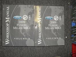 2009 Ford Fusion Mercury Milan Lincoln Mkz Riparazione Shop Servizio Man... - $59.38