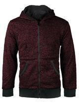 Boys Kids Toddler Athletic Soft Sherpa Lined Fleece Zip Up Hoodie Sweater Jacket image 11