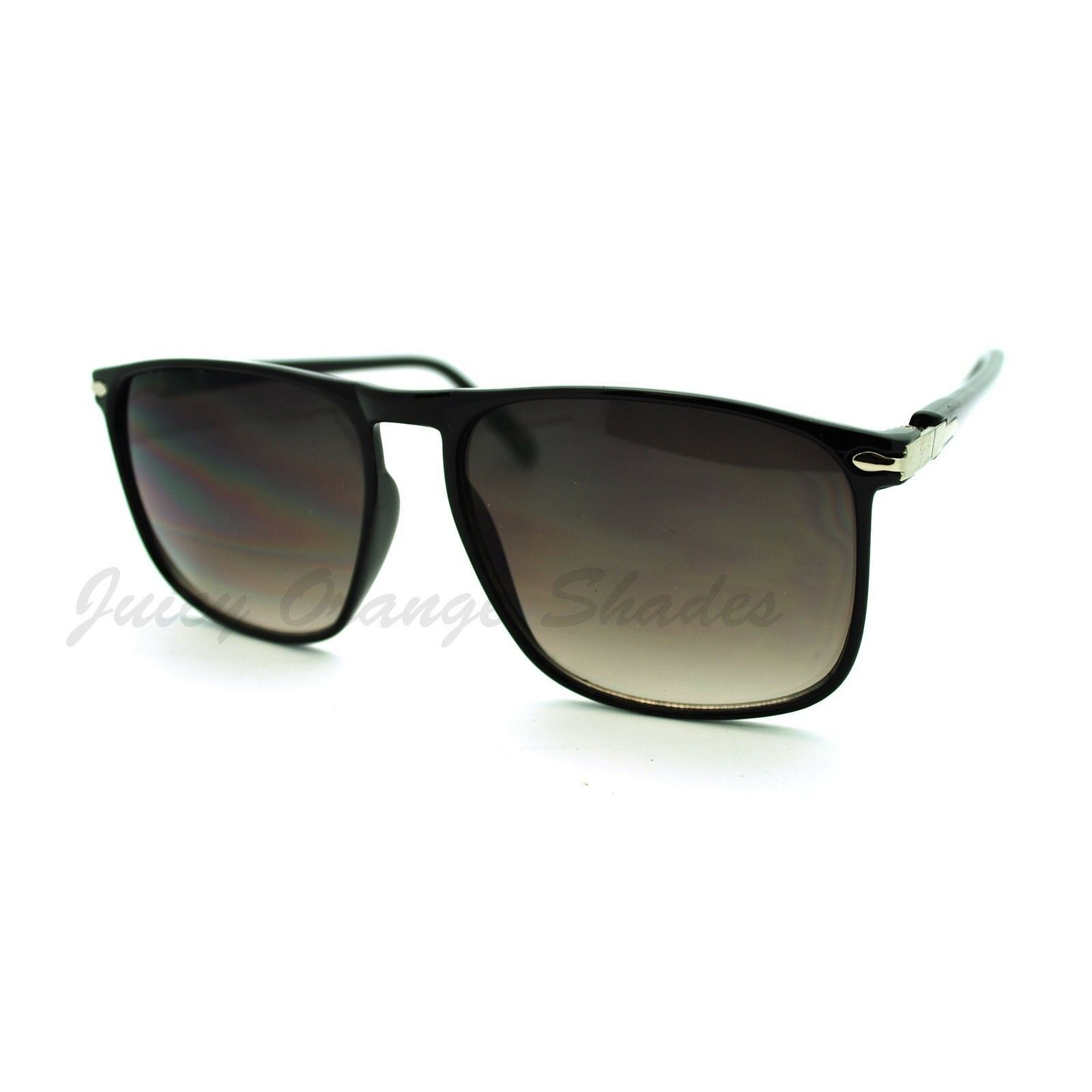 Thin Square Sunglasses Unisex Retro Designer Fashion Shades