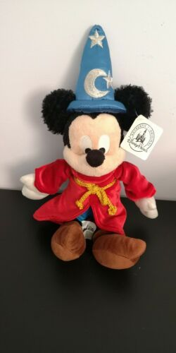 Primary image for Disney Park Fantasia Wizard Hat Sorcerer Plush Mickey Mouse Stuffed Animal 9""