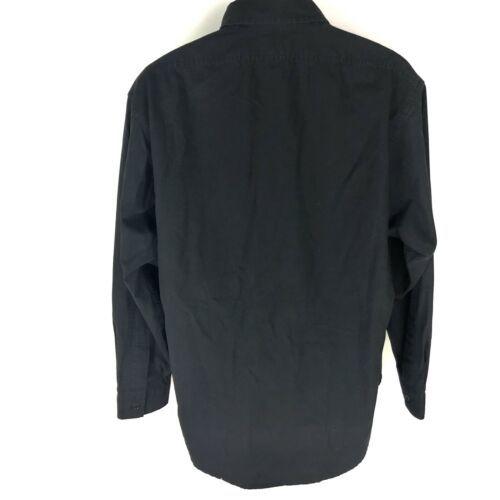 Polo Ralph Lauren Men's Black Button Front Shirt L image 2