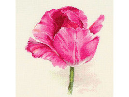 Cross Stitch Kit Hand Embroidery Tulips Flowers - $29.90