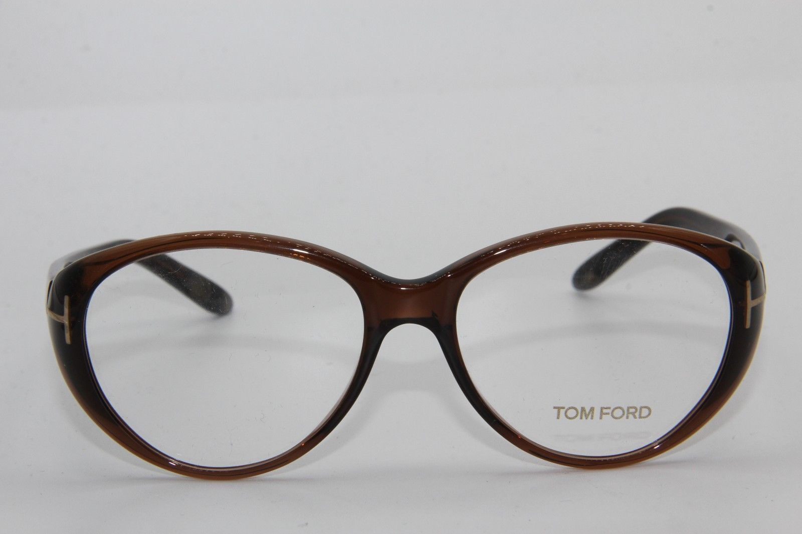BRAND NEW TOM FORD TF 5245 050 BROWN EYEGLASSES AUTHENTIC FRAME RX TF5245 53-15