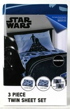 One James Franco & Sons Inc Disney Star Wars Microfiber 3 Piece Twin She... - $31.99
