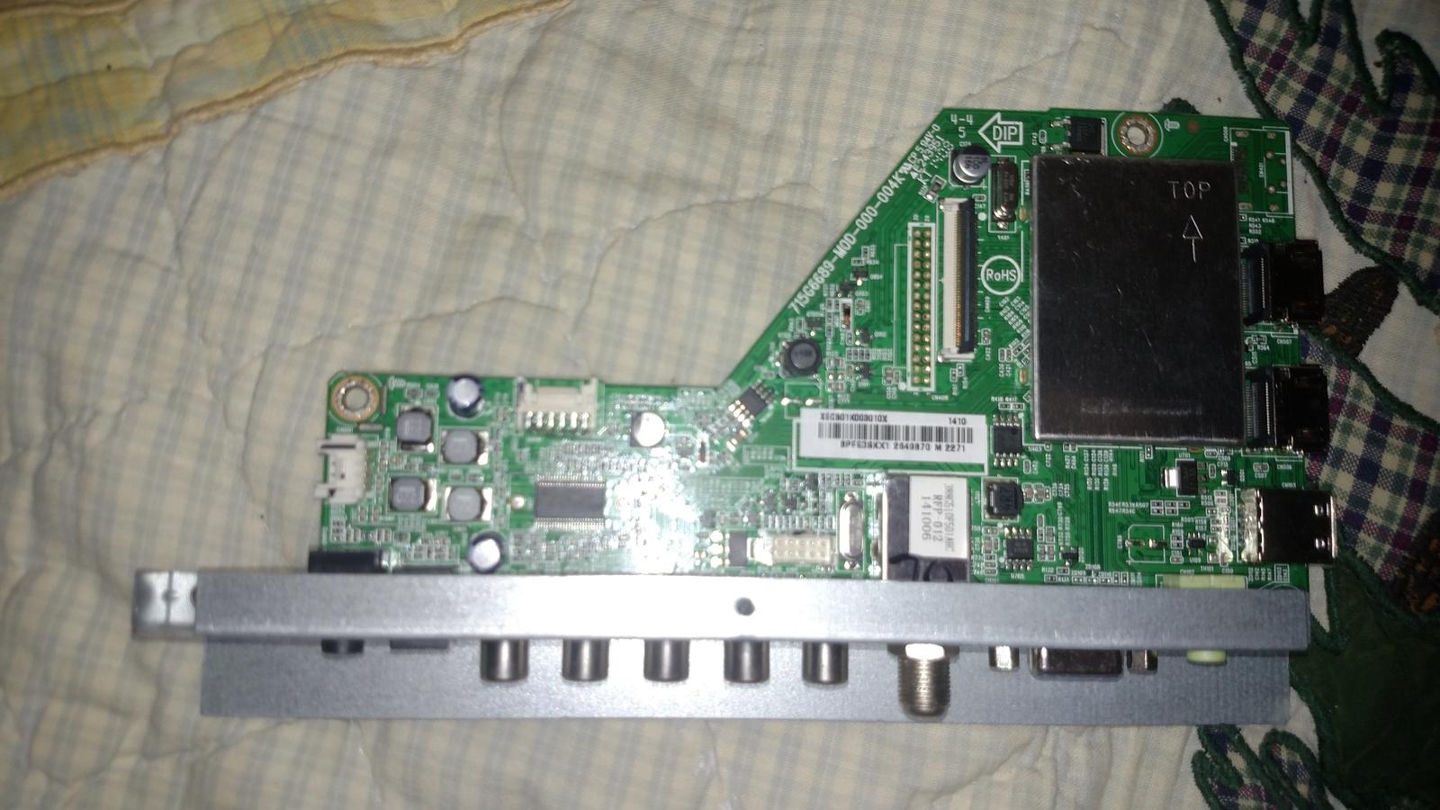 Insignia 756TXECB01K003 Main Board for NS-40D510NA15 (REV. A) - $34.99