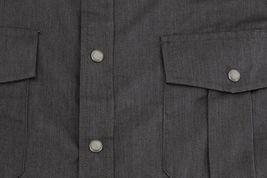 Men's Casual Western Pearl Snap Button Down Long Sleeve Cowboy Dress Shirt image 5