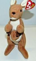 Beanie Babies 1996 Pouch Kangaroo - £5.75 GBP