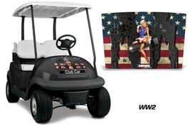 Club Car Precedent i2 Golf Cart Hood Graphic Kit Wrap Decal 2008-2013 WW... - $69.25