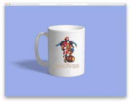 captain morgan Custom Mug - ₹831.48 INR