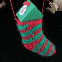 Vintage Koala Christmas Stocking Ornament Hallmark Keepsake 1990 image 5