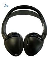 2x Wireless IR Headphones - Ford F-350 F-150 Transit Van Wagon F-250 Foc... - $49.99