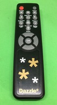 Dazzle TV Photo Show Remote Control  Infrared Tested and Works - Clean - $7.70