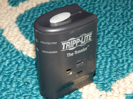 Tripp-Lite The Traveler Notebook Portable Surge Protector Wall 2-Outlet - $9.89