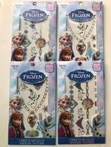 Disney Frozen Metallic Jewelry Tattoo Kit Birth... - $11.97