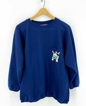Disney Designs Boys Sweatshirt Size L/XL (14/16) Navy Blue Pocket Sailor... - $33.66