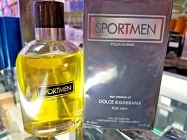 Sportmen Pour Homme For Men 3.4 Oz 100 Ml Toilette Edp Spray * Sealed In Box - $36.29