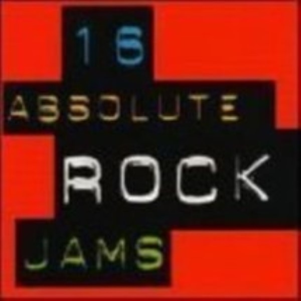 16 Absolute Rock Jams by Countdown Players Cd