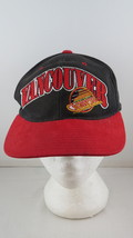 Vancouver Canucks Hat (VTG) - Double Arch Script By Starter - Adult Snap... - $49.00