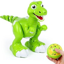 TKKJ Remote Control Dinosaur Spraying Water RC Interactive Walking Pet L... - $75.16