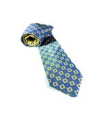 Tommy Hilfiger Blue and Yellow Men's Silk Tie - $20.00