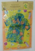 New Creative 24032 Hawaiian Shirt 3D Lei Accents Garden Flag image 4