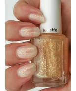 Essie AS GOLD AS IT GETS Luxeffects Gold Flake Top Coat Nail Polish Lacq... - $5.92