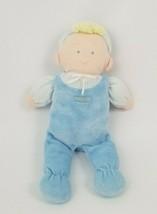 Oshkosh B'gosh Baby Boy Blue Doll Plush Stripes Blonde Yarn Hair - $89.09