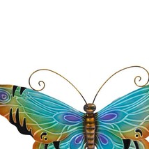 Metal Butterfly Wall Hanging Decor~ Hand-Painte... - $63.80