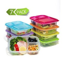 Lunch Meal Prep Containers Food Storage Box Com... - $18.94