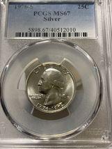 1976-S Washington Silver Quarter, PCGS MS67 BLAST WHITE  20210025 - $34.99