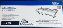 Genuine Brother Printer TN-720 Toner Cartridge - OEM - New In Box! image 3