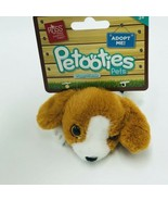 "Russ Petooties Pets Beagle Puppy Friends 5"" Beanbag Plush Adopt Me New - $14.99"