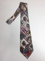 Vintage Nicole Miller NYC Police Foundation Men's Novelty Neck Tie 1997 RARE - $30.84