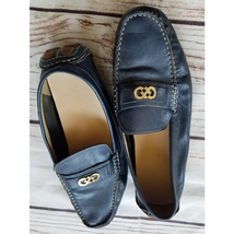 Cole Haan Shelby Logo Driving Moccasins Flats Navy Blue 10 - $19.80
