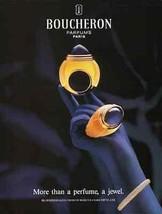 Boucheron 1995 Perfume AD Sensual Purple Glove Hand Photo Illustration G... - $14.99