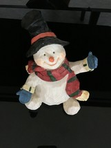 GANZ Snowman Figure 6 inches high Christmas Decoration - $19.99