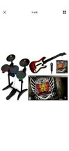 PS3 Guitar Hero Warriors Of Rock Super Bundle Set Game Kit Wor Gh Playstation 3 - $280.49
