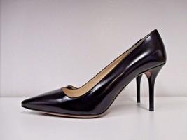 PRADA Black Leather Spazzolato Fume Stiletto Heels - Size 6 1/2 - $199.99