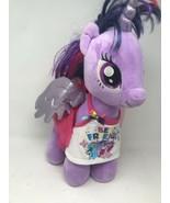 Build A Bear Twilight Sparkle My Little Pony Unicorn Pegasus with outfit... - $21.77