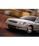 2001 Hyundai SONATA sales brochure catalog US 01 GLS - $6.00