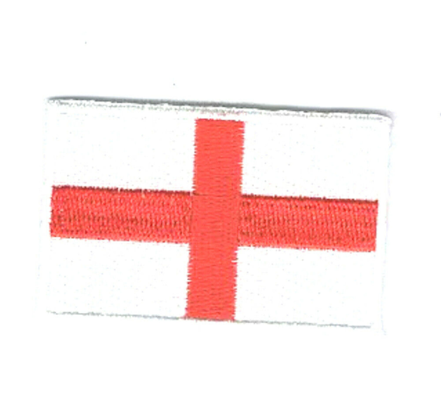 england st george flag embroidered iron / sew on patch