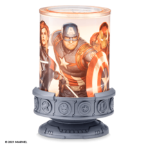 Scentsy Marvel The Avengers Warmer + 1 Wax Bar - $75.00