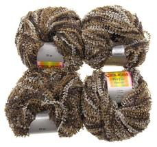 Celebri Purpur High Fashion Yarn Turkey Metallic Sheen Lot 4 Skein Balls... - $10.89