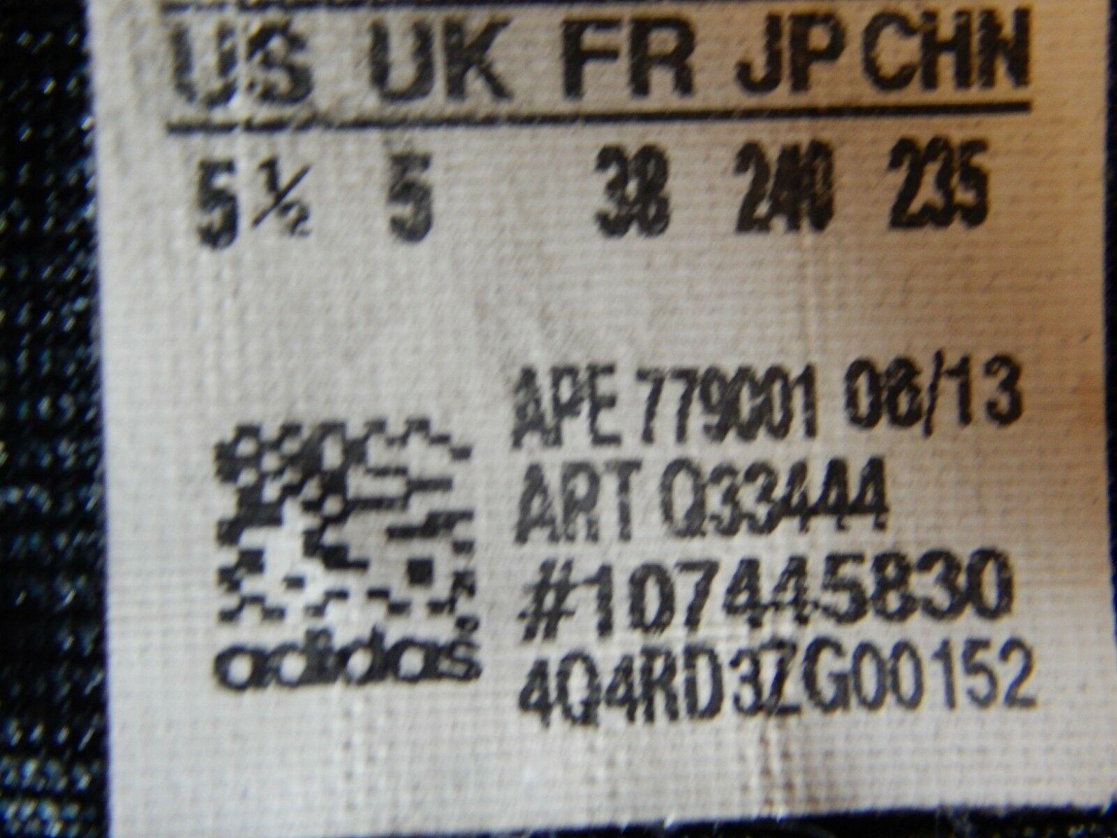 Adidas Crazy Shadow 2 5.5 M (Y) EU 38 Youth Kid's Basketball Shoes Blue Q33444