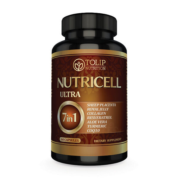 Tolip Nutrition Nutricell Ultra 7 in 1 Stemcell therapy supplement
