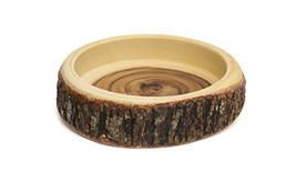 "Lipper International 1062 Acacia Tree Bark Bowl, 11"" Diameter x 3.5"" Hei... - $59.98"