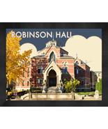 "Brown University ""Robinson Hall"" 13x16 Art Deco Framed Print  - $39.95"