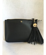 Tory Burch Tassel Crossbody Bag Black Leather  - $149.00