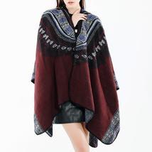 Women 130*150CM Vintage Ethnic  Artificial Cashmere Scarf - $37.99