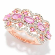 Victoria Wieck Collection 2.40ctw Choice of Sapphire & White Zircon Scal... - $128.69